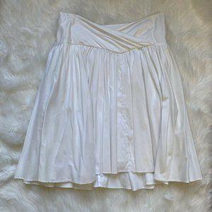Diane von Furstenberg White Flowy Skirt